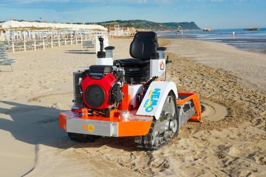 Машини за почистване на плаж