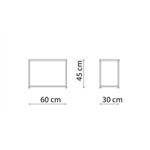 Desiree DE3060 - 30x60 h.45