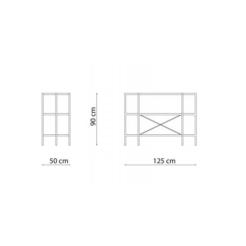 Etagere ET12550 - 125x50