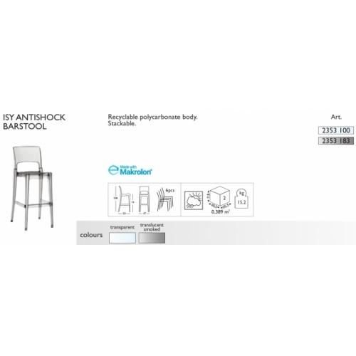 Isy Antishock Barstool