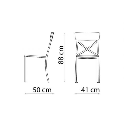Mogan Chair X MG112