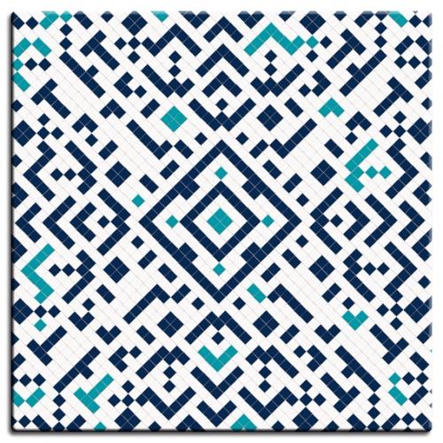 Mosaic Bleu