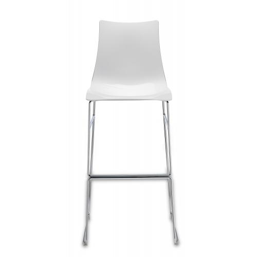 Zebra Antishock Sledge Barstool